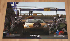 Gran Turismo 4 The Real Driving Simulator Rare Poster 58x39cm PS2 PS3 PSP