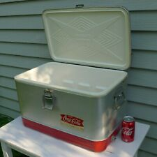 """RARE Vintage (1962) Coca-Cola COOLER- """"For That Refreshing New Feeling"""""""