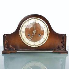 KIENZLE Mantel Clock HIGH GLOSS! Mid Century 3 Bar Chime!! Vintage Germany Shelf
