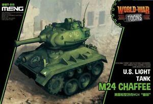Meng Model WWT018 U.S.Light Tank M24 Chaffee(Q Edition)