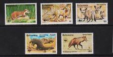 Botswana - 1977 World Wildlife Fund Endangered Species, cat. $ 59.75