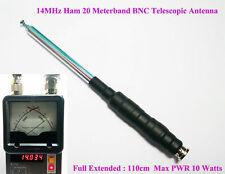 14MHz Ham Amateur Radio 20 Meter Band HF QRP BNC Telescopic Antenna