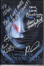 COMPLETE UNDERWORLD TPB IDW 2007 Signed Bill Nighy Michael Sheen + more RARE