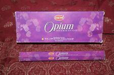 HEM OPIUM Incense 20 Sticks NEW OPIO OPIEM **Free Shipping** USA SELLER