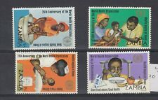 More details for zambia 1973 who set sg199/202 mnh jk5679