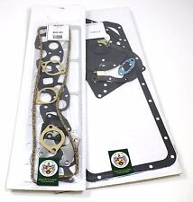 FULL ENGINE GASKET SET TRIUMPH TR250 & TR6 USA CARB TYPE (NON RECESSED) 1967-72