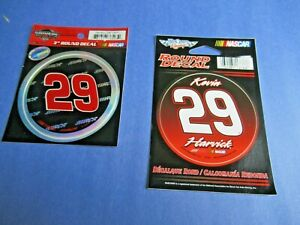 Kevin Harvick #29 Richard Childress Racing NASCAR Official Decal Package Qty. 2