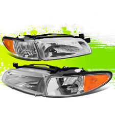 Oe Style Headlights with Amber Corner Head Lamps for Pontiac Grand Prix 97-03