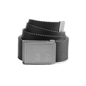 New - Under Armour Men's Reversible Webbing 2.0 Belts