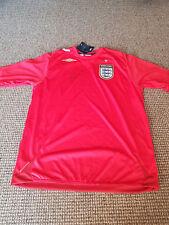 Michael Owen Hand Signed England Away Football Shirt - Autograph Collectors