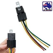 1pc 12V 40A Relay & Socket SPDT 5Pin 5 Wire For Car Auto Truck Vehicle VHOB85901