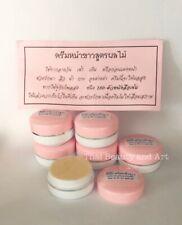 6 x THAI BABY FACE Whitening Cream Fruit Extract Melasma Dark Spots Night Cream