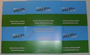 Generic Service History Book Suitable For Skoda Felicia Octavia Fabia