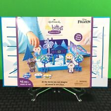 Frozen Activity Set Disney Hallmark Itty Bittys Stage Play Elsa Anna Age 3up New