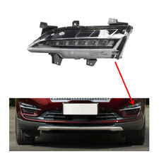 Fit For 2015 2016 2017 2018 Lincoln MKC Bumper Hood Low Fog Light LED Lamp Left
