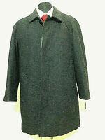 Gina Lebole giaccone uomo colore grigio  tg M/R Wool e Cashmere  made Italy