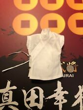 I modelli Coo Japan Samurai jinguu Yukimura CAMICIA BIANCA SCALA 1/6th Loose