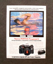 [GCG] M998 - Advertising Pubblicità - 1984 - NUOVA PENTAX PROGRAM A,ESIGETELA