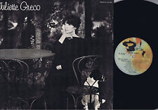 JULIETTE GRECO NICE BARCLAY STEREO LP