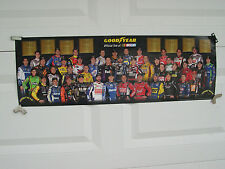 GOODYEAR RACING NASCAR POSTER SPRINT CUP DRIVERS 2012 FEATURING DENNY HAMLIN