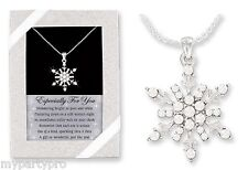 FROZEN SNOWFLAKE RHINESTONE NECKLACE BIRTHDAY PARTY supplies FREE SHIPPING