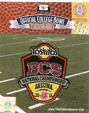 2011 BCS CHAMPIONSHIP PATCH AUBURN OREGON NCAA LICENSED