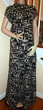 CHANEL New with Tags 11A Black/White Tweed Sweater Dress Gown 40
