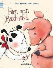 Hier, mein Bauchnabel von Langreuter, Jutta, Hebrock, An... | Buch | Zustand gut