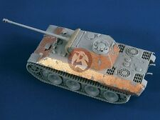 Verlinden 1/35 Panther Ausf.A Damaged Zimmerit (for Dragon) [Resin + PE] 1955