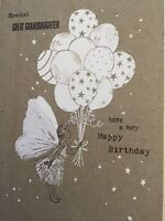 Special Great Grandaughter Fairy Birthday Card Happy Birthday Card & Envelope