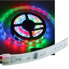 """10m RGB LED-Lauflicht Stripe """"LLS"""" IP67 Licht-Band Strip Leiste Streifen Außen"""