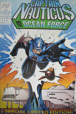 Captain Nauticus Ocean Force #1 Entity Comics Modern Age 1994 VG/FN