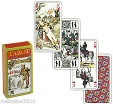 Tarot  divinatoire  aux armes d'épinal   divination voyance cartes avenir