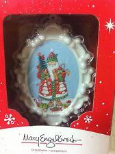 Mary Engelbreit 2014 Christmas Santa Claus Ornament Nib