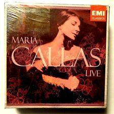 MARIA CALLAS LIVE  - 8 CD BOX SET EMI CLASSICS  - NUOVO E SIGILLATO