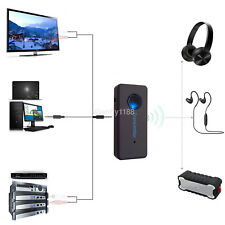 New 3.5mm Stereo Music Bluetooth Audio Transmitter A2DP Dongle Adapter for PC TV