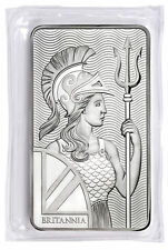 Royal Mint Britannia 10 Troy oz. .999 Fine Silver Bar SKU55100
