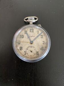 Junghans Taschenuhr Wecker/Alarm um 1915, Kaliber J36