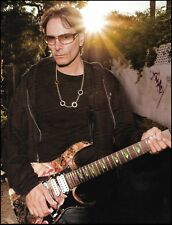 Steve Vai Ibanez Universe Burned For The Love of God guitar 8 x 11 pin-up photo