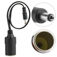 DC 5.5*2.1mm Cigarette Lighter Female Socket Plug Power Supply Adapter Cable