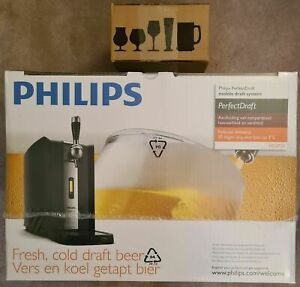 BRAND NEW Philips PerfectDraft Beer Dispenser + 2 Glasses ✅🍺✅ FREE Delivery 🚚