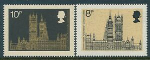 1973 GB PARLIAMENTARY CONFERENCE SET OF 2 FINE MINT MNH SG939-SG940