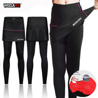 Ladies Cycling Trousers Women Padded Legging Tights Compression Pants Breathable