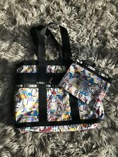 LeSportsac Large Weekender Travel Tote with Small Pouch