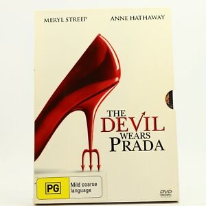 The Devil Wears Prada Meryl Streep Anne Hathaway DVD GC Free Track Post