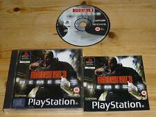 Resident EVIL 3 Nemesis-PLAYSTATION 1 (PS1)