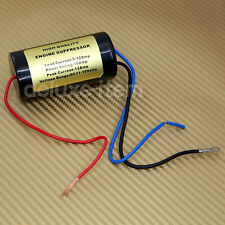 12V NOISE FILTER HUM KILLER ENGINE SUPRESSOR POWER WIRE IN CAR STEREO AUDIO