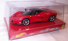Hot Wheels BLY61 1-24 scale LaFerrari  in Red New in Clear Box