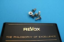 REVOX / STUDER ALU Spulen Schraubensatz ( 3 Stück ) , original/Neu