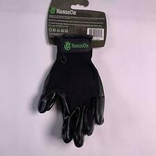 HandsOn Revolutionary Grooming/Bathing Gloves for Pets Green Size Large